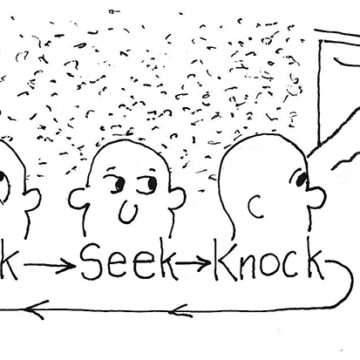 Ask, Seek, Knock = Creation