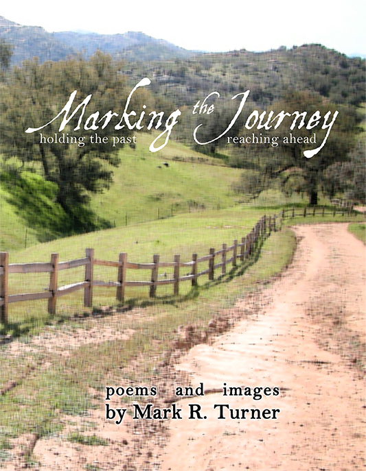 cover of Mark Turner's Marking the Journey book
